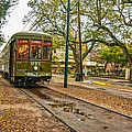 St. Charles Streetcar by Steve Harrington