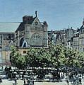 St. Germain L'auxerrois by Claude Monet