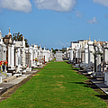 St Louis Cemetery No 3 New Orleans by Christine Till