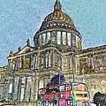 St Paul's Cathedral London Art by David Pyatt