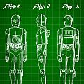 Star Wars C-3po Patent 1979 - Green by Stephen Younts