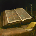 Still Life With Bible by Mountain Dreams