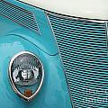 Street Car  Blue Grill With Headlight by Catherine Balfe