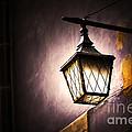 Street Lamp Shining by Michal Bednarek