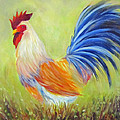 Strutting My Stuff, Rooster by Sandra Reeves