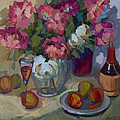 Summer Peonies by Diane McClary