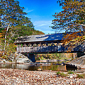 Sunday River Covered Bridge by Jeff Folger