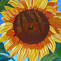 Sunflower by Janet Zeh