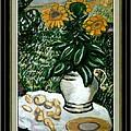 Sunflowers by Lubomir Konstantinov
