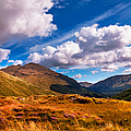 Sunny Day At Rest And Be Thankful. Scotland by Jenny Rainbow