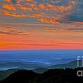 Sunrise Blue Ridge Parkway by Thomas R Fletcher