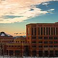 Sunrise Flyby by Tom Gort