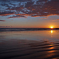 Sunset At Porthcawl by Pete Hemington