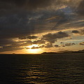 Sunset In The Caribbean by Richard Booth
