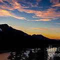 Sunset On Angora Ridge by Mitch Shindelbower