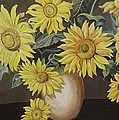 Sunshine And Sunflowers by Wanda Dansereau