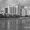 Tampa Skyline From Davis Islands by Bill Cobb