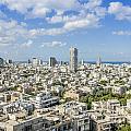 Tel Aviv Israel Elevated View by Sv