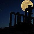 Temple Of Poseidon  by Emmanuel Panagiotakis