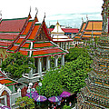 Temple Of The Dawn-wat Arun In Bangkok-thailand by Ruth Hager