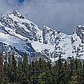Large Tetons Panorama by Gene Norris