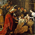 The Adoration Of The Magi by Peter Paul Rubens