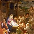 The Adoration Of The Shepherds by Guido Reni