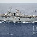The Amphibious Assault Ship Uss Essex by Stocktrek Images