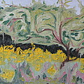 The Apple Tree And The Golden Rods by Francois Fournier