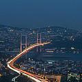 The Bosphorus Bridge  by Ayhan Altun