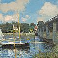 The Bridge At Argenteuil by Claude Monet