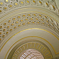 The Ceiling Of Union Station by Cora Wandel
