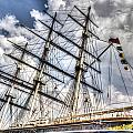The Cutty Sark Greenwich by David Pyatt