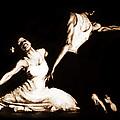 The Dancers-sepia by Alonzo Davis
