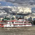 The Dixie Queen Paddle Steamer by David Pyatt