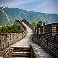 The Great Wall Of China by Gary Fossaceca