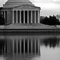 The Jefferson Memorial by Cora Wandel