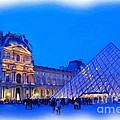 The Louvre by Allen Beatty