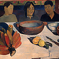 The Meal by Paul Gauguin