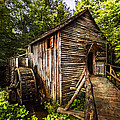The Mill At Cades Cove by Debra and Dave Vanderlaan