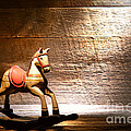 The Old Rocking Horse In The Attic by Olivier Le Queinec