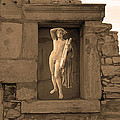 The Palaestra - Apollo Sanctuary by Augusta Stylianou