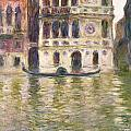 The Palazzo Dario by Claude Monet