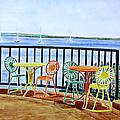 The Terrace View by Thomas Kuchenbecker
