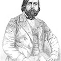 Theophile Gautier  French Writer by Mary Evans Picture Library