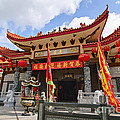 Thien Hau Temple A Taoist Temple In Chinatown Of Los Angeles. by Jamie Pham
