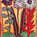 Three Flowers by Diane Fine