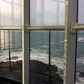 Through Lighthouse Window  by Susan Garren