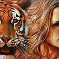 Tiger by Arthur Braginsky