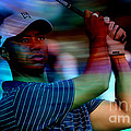 Tiger Woods by Marvin Blaine